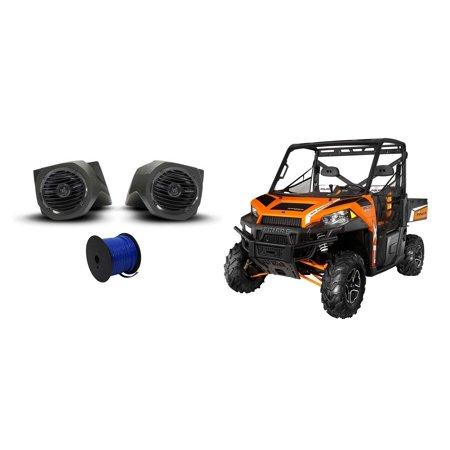 Rockford Fosgate Polaris Ranger 6 5  Prime Speakers Lower Speaker Pod Enclosures