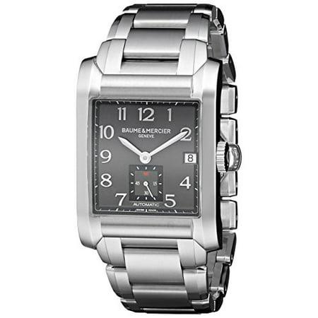 Baume & Mercier Men's A10048 Hampton Analog Display Swiss Automatic Silver Watch