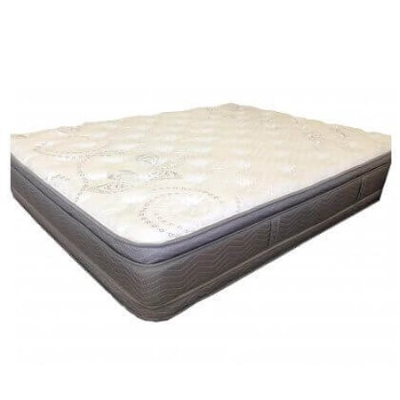 Kennewick Euro Pillow Top 2 Sided Mattress & Promenade Foundation