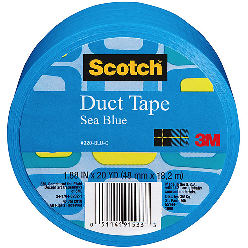 """3M Scotch Solid Color Duct Tape 1.88"""" x 20 yds"""