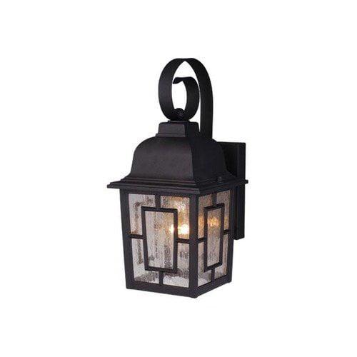 Vaxcel Vista 1 Light Outdoor Wall Lantern