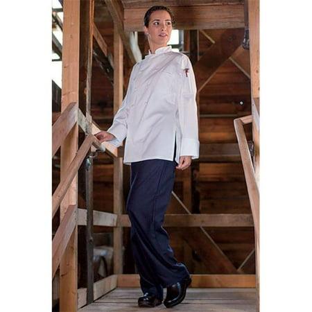 Uncommon Threads 0470C-2507 Navona Ladies Coat in White - 3XLarge