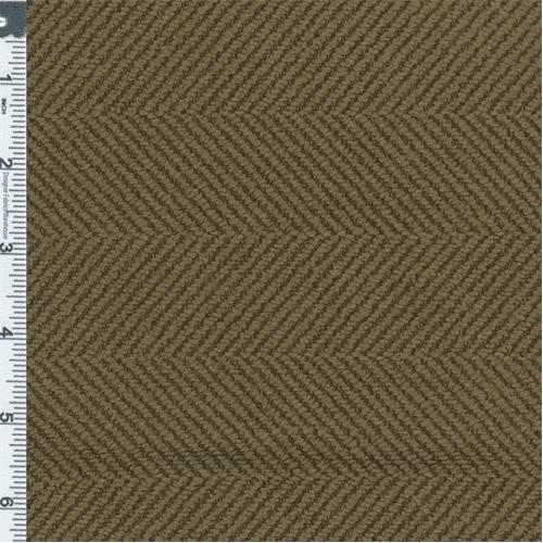 Cocoa Brown Herringbone Upholstery Fabric Fabric, Fabric By the Yard