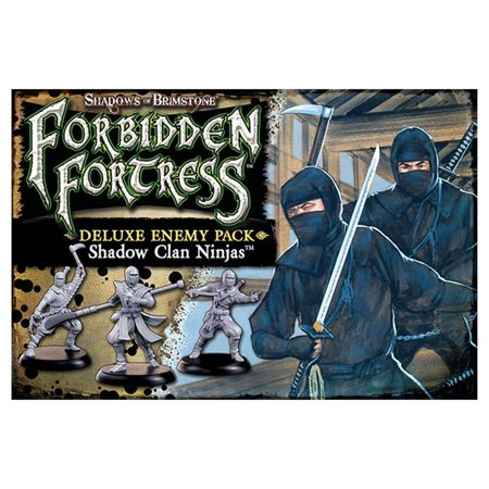 Flying Frog Games (SoB: Shadow Clan Ninja Deluxe Enemy Pack Board Game Flying Frog Productions)