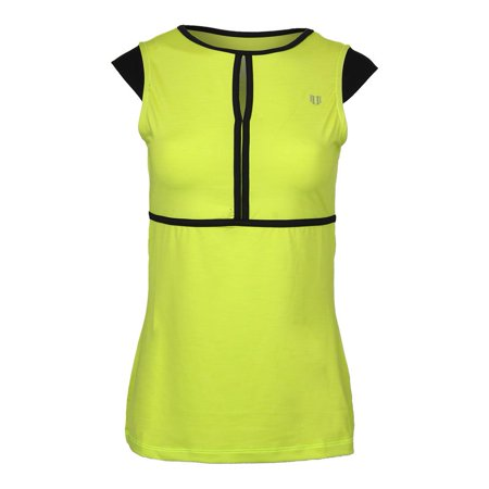 Women`s Volley Cap Sleeve Tennis Top Lime Popsicle](Lime Popsicle)