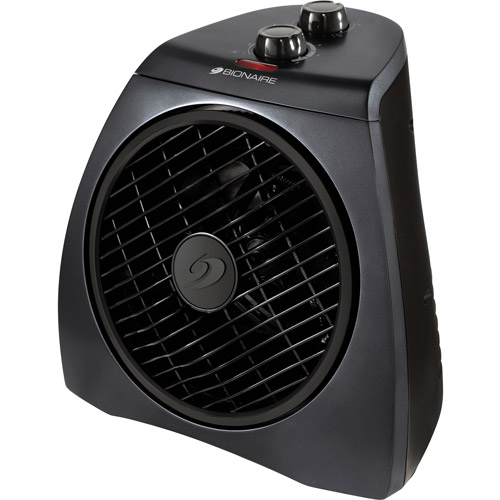 Bionaire Electric Heater Fan Circulator with Rotating Grill, BFH3342M-UWM-115