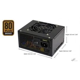 SPI Power Supply FSP400GHS 400W SFX Fan SATA Active PFC 80PLUS BRONZE