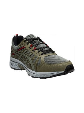 Green ASICS Mens Shoes