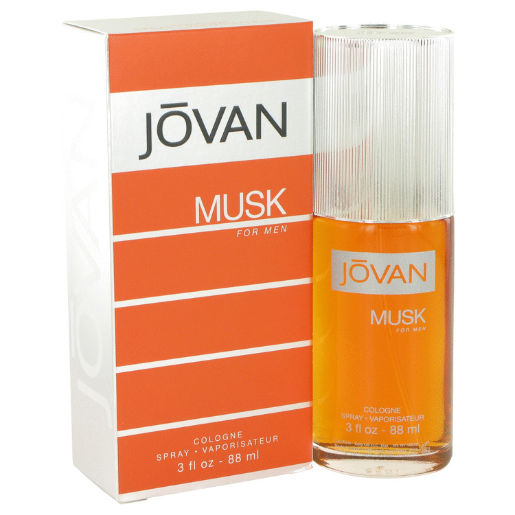 JOVAN MUSK Cologne Spray 3 oz For Men 100% authentic perfect as a gift or just everyday use