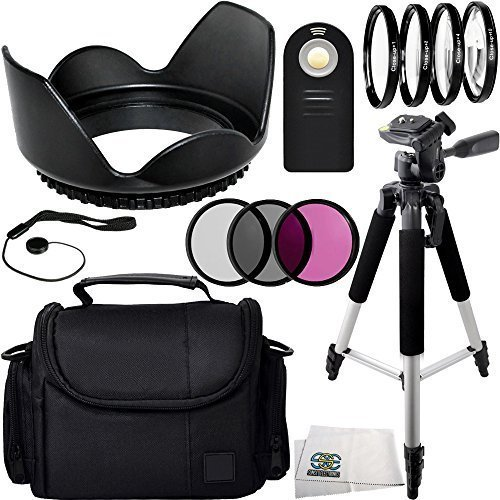 13PC Essentials Package for Nikon D3000 D3200 D3300 D5000...