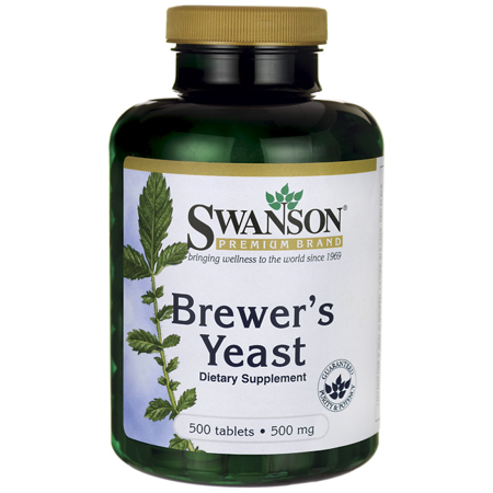 - Swanson Brewer's Yeast 500 mg 500 Tabs