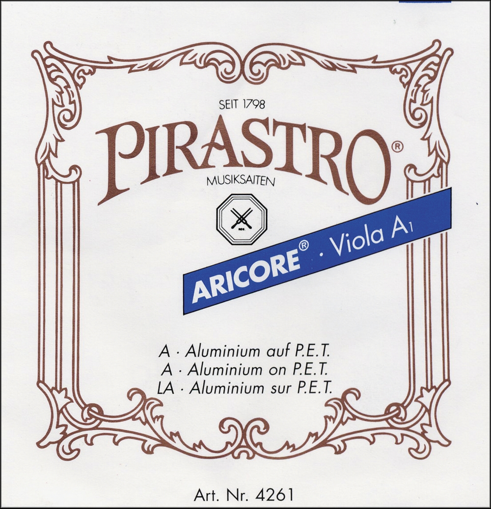 Pirastro Aricore Series Viola String Set Full Size Set by Pirastro