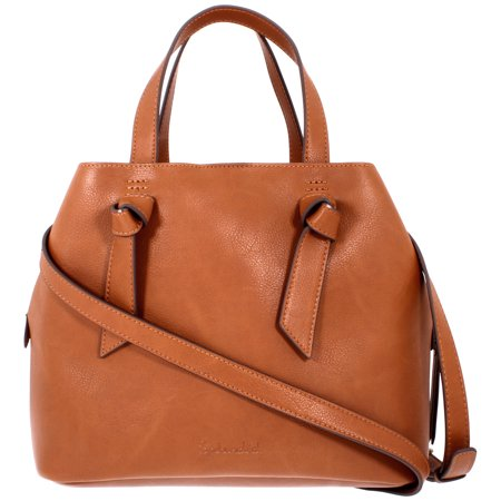 Splendid Bodega Knot Ladies Leather Satchel 4BOD06VL-COG Slouchy Leather Bags