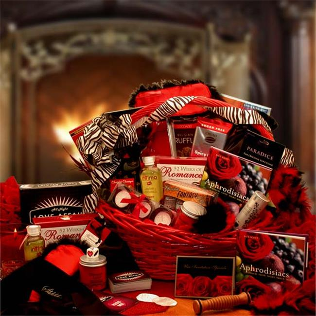 Gift Basket Drop Shipping 8161212 Naughty Nights Couples Romantic Gift Basket
