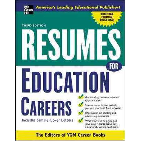 Resumes For Education Careers