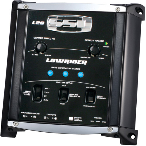 Lowrider Bass Generator Remote Subwoofer Level Control
