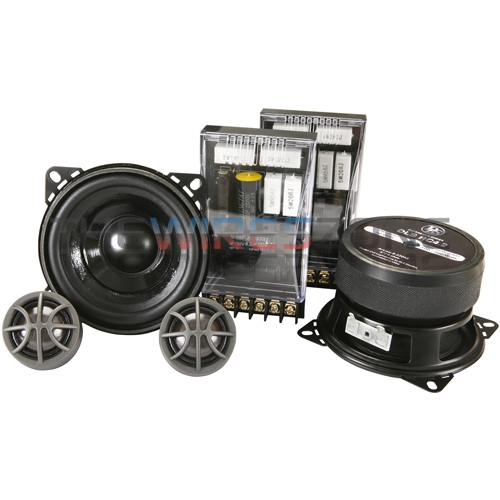 DLS RC4.2 2-Way 4' 200 Watt Car Audio Stereo Component Speaker System (pair)
