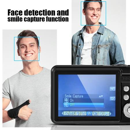 Hilitand Ultra Slim Mini 5MP DV Camcorder 720P HD Digital Camera Video Recorder US Plug, Mini Digital Camera, Mini