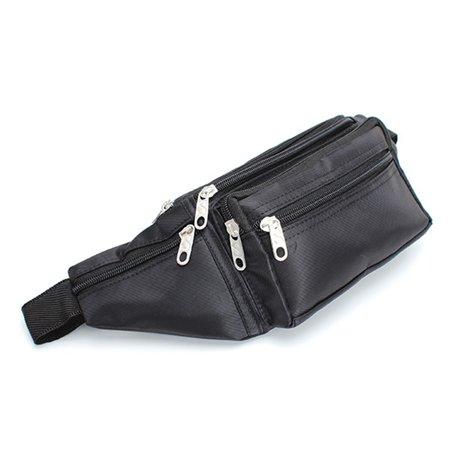 New Men's Bum Bag Fanny Pack Travel Adjustable Waist Pocket Belt Hip Purse Pouch
