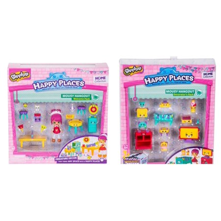 - Shopkins Happy Places Season 2 - Mousy Hangout - Bundle Decorator's and Welcome Pack