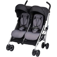 Evenflo Minno Twin Lightweight Double Stroller, Glenbarr Grey