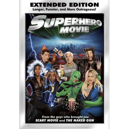 Superhero Movie (DVD) (All The Superheroes)