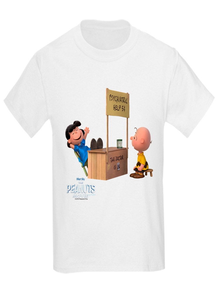 Charlie Brown and Lucy - Peanut Kids' Light T-Shirt