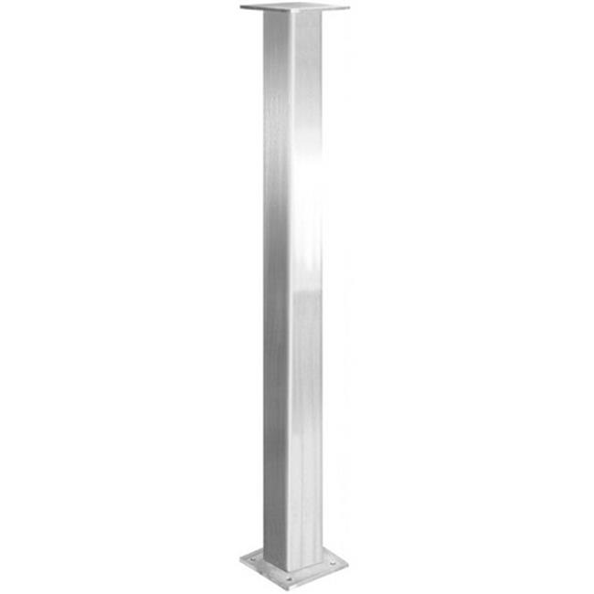 Federal Brace 39568 Trajan Countertop Leg Supports, Stainless Steel - 29 Inch