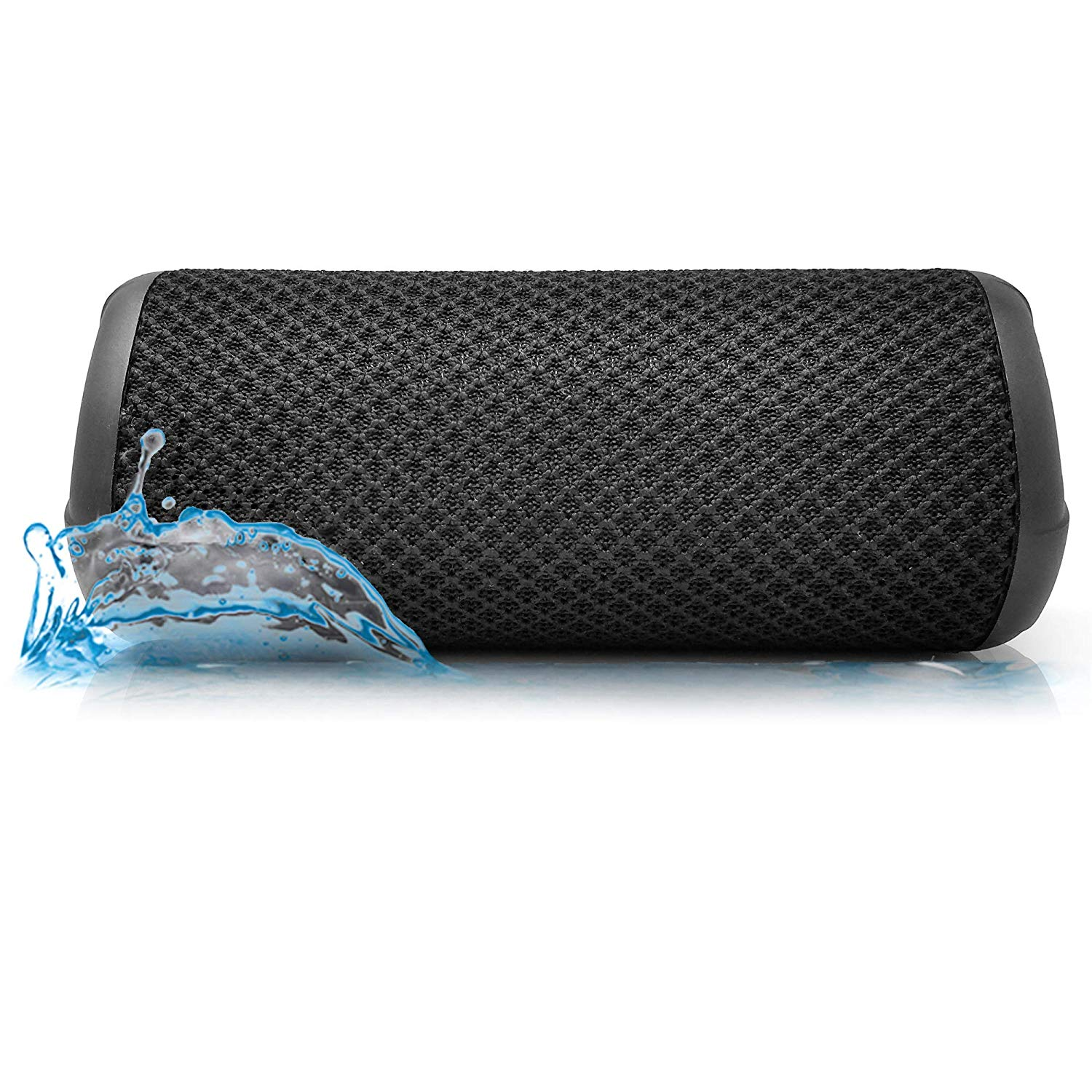 Photive HYDRA II IPX7 Waterproof Wireless Bluetooth Speaker. 10-Watt Dual-Driver Subwoofer 60ft Wireless Range and 10-Hours of Continuous Play.
