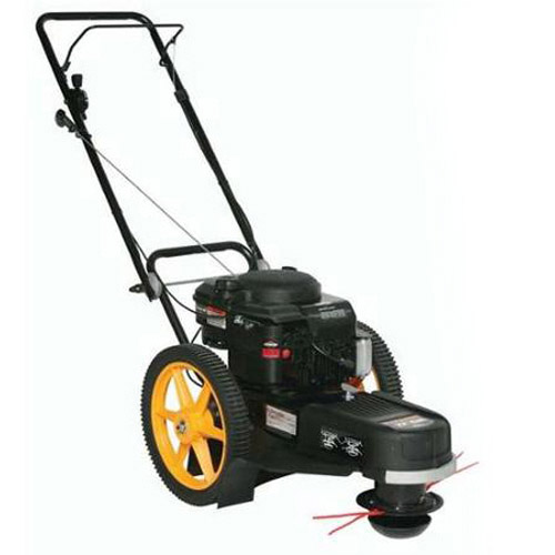 Poulan Pro 22 in. 190cc Gas High-Wheel Lawn Trimmer