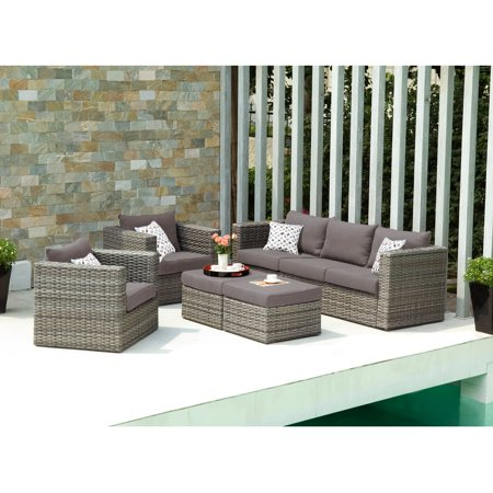Southern Enterprise Deep Seating Conversation Set