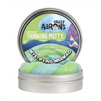 "Crazy Aaron's Mystifying Mermaid 4"" Tin Thinking Putty"