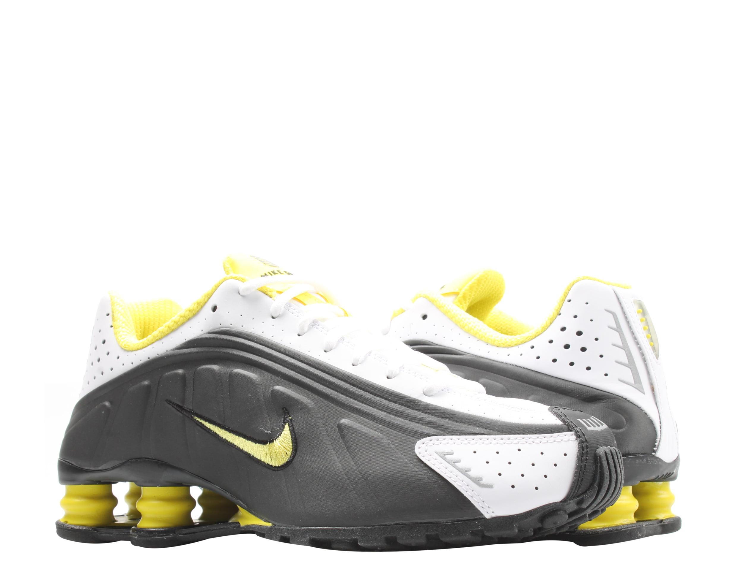 Nike Shox R4 Black/Dynamic Yellow-White