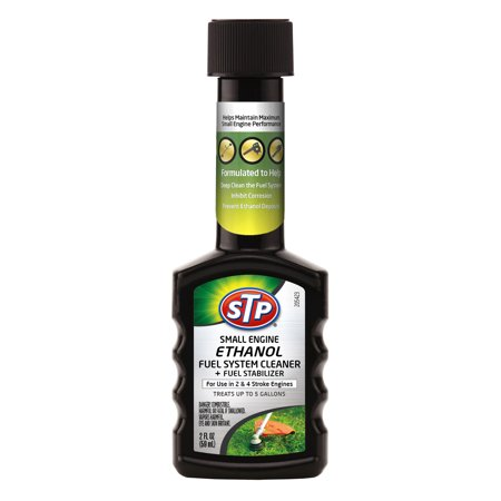 STP® Small Engine Ethanol Fuel System Cleaner + Fuel Stabilizer (2 fluid