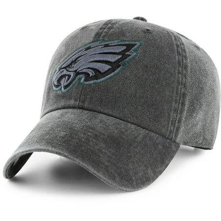 Men's Fan Favorite Black Philadelphia Eagles Mass Matter Adjustable Hat - OSFA (Eagles Football Hats)