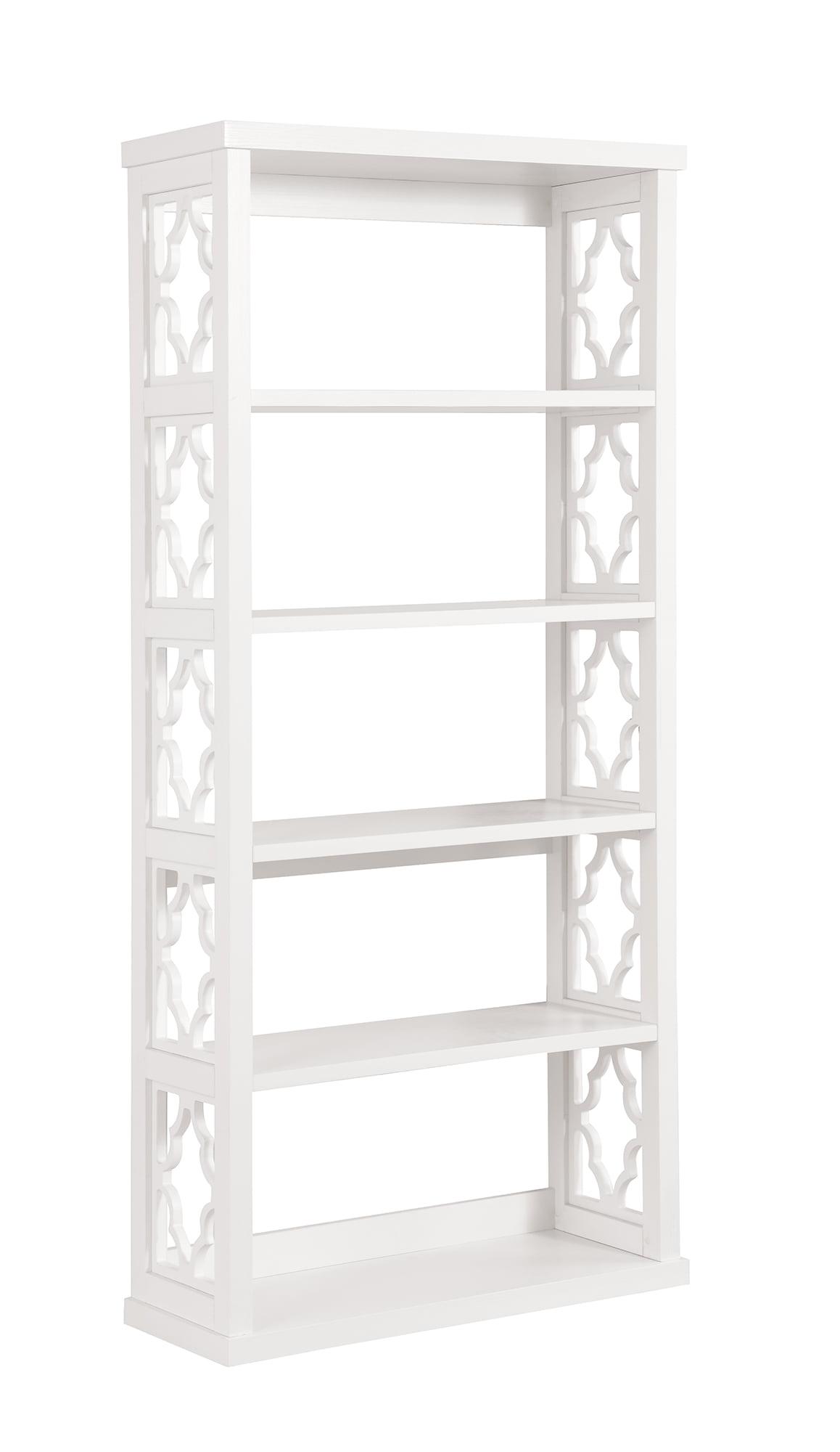 Walmart Furniture Online: Faron Five-Shelf Bookcase, White