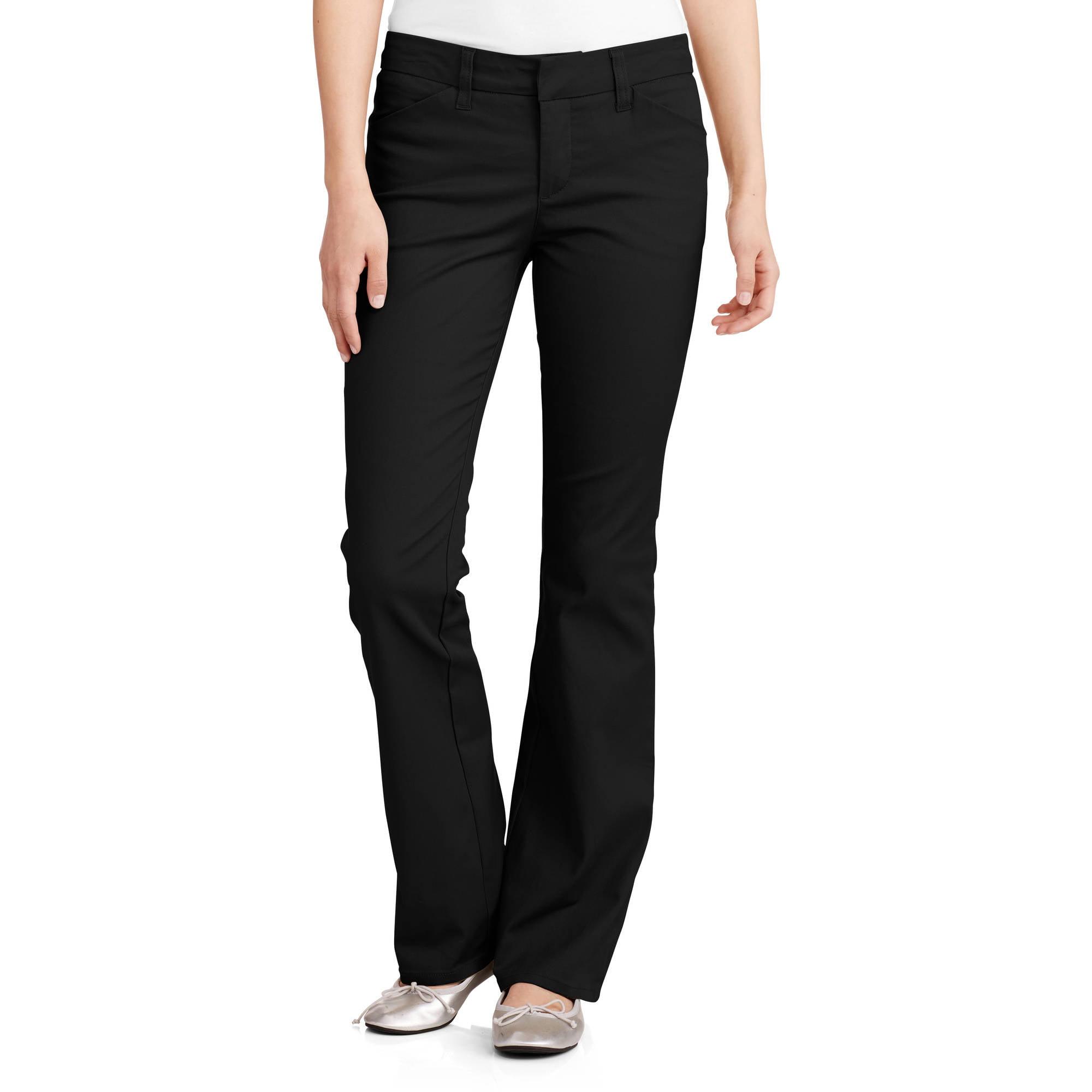 Dickies Juniors School Uniform 4 Pocket Slim Bootcut Pant