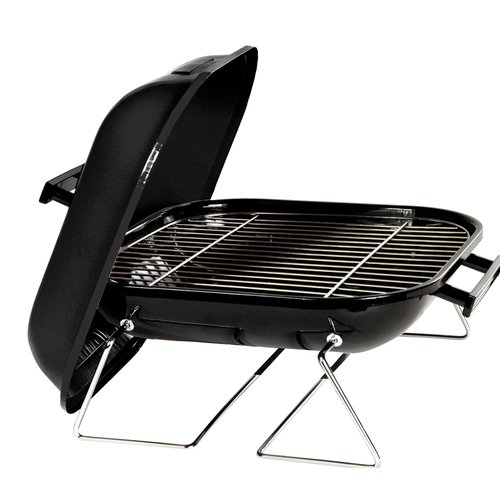 Marsh Allan Portable Charcoal Grill with Folding Legs