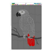 African Gray Parrot - Bird MAG-NEATO'S(TM) Puzzle Magnet