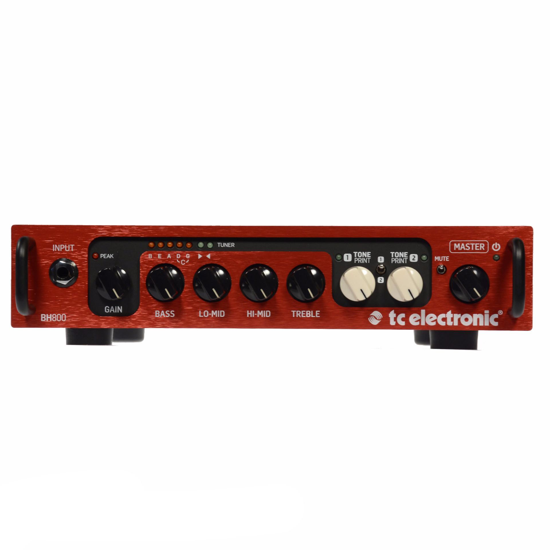 Tc Electronic BH800 800-watt Bass Amplifier Head with Two...