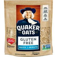 Quaker Quick Oats Gluten Free 4 Pack (4 - 1.5LB Bags)