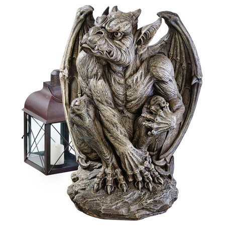Silas the Gargoyle Sentry Statue: - Halloween Gargoyle Statues