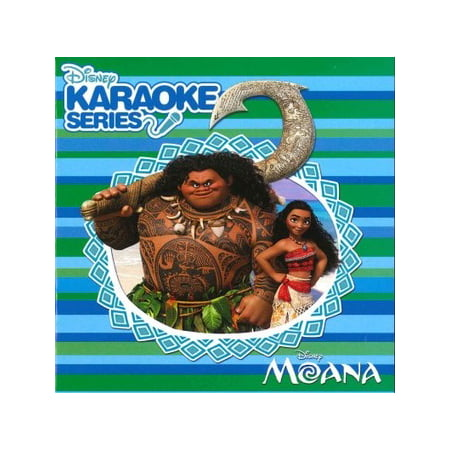 Disney Karaoke Series: Moana (CD) (Best Karaoke Cds For Kids)