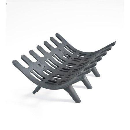 Large Cast Iron Deep-Bed Self-Feeding Fireplace Grate