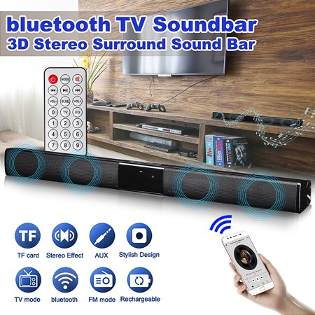 22 inch 360° Stereo 3D Surround Sound Bar Soundbar Wireless h Speaker Audio System Home Theater Subwoofer Amplifier For TV PC Desktop Laptop Tablet covid 19 (Xbox 360 Surround Sound coronavirus)
