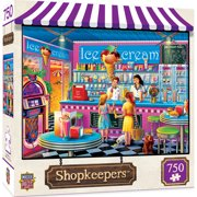 MasterPieces Shopkeepers - An's Ice Cream Parlor 750 Piece Puzzle