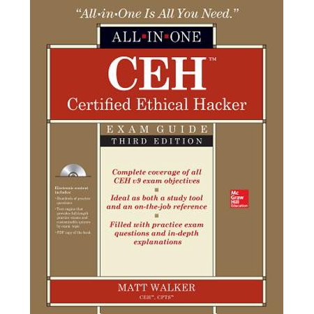 Ceh Certified Ethical Hacker All-In-One Exam Guide, Third