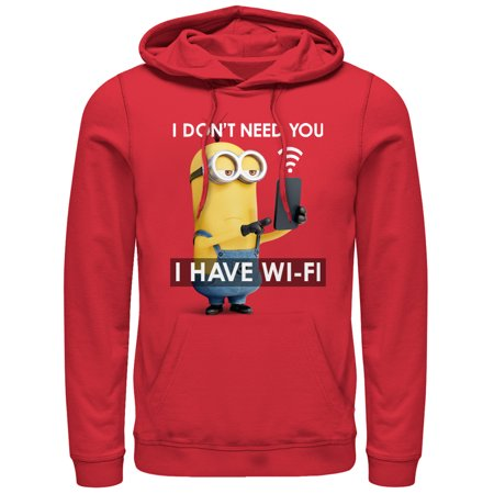 Despicable Me Men's Minion Wi-Fi Hoodie](Minion Hoodie)