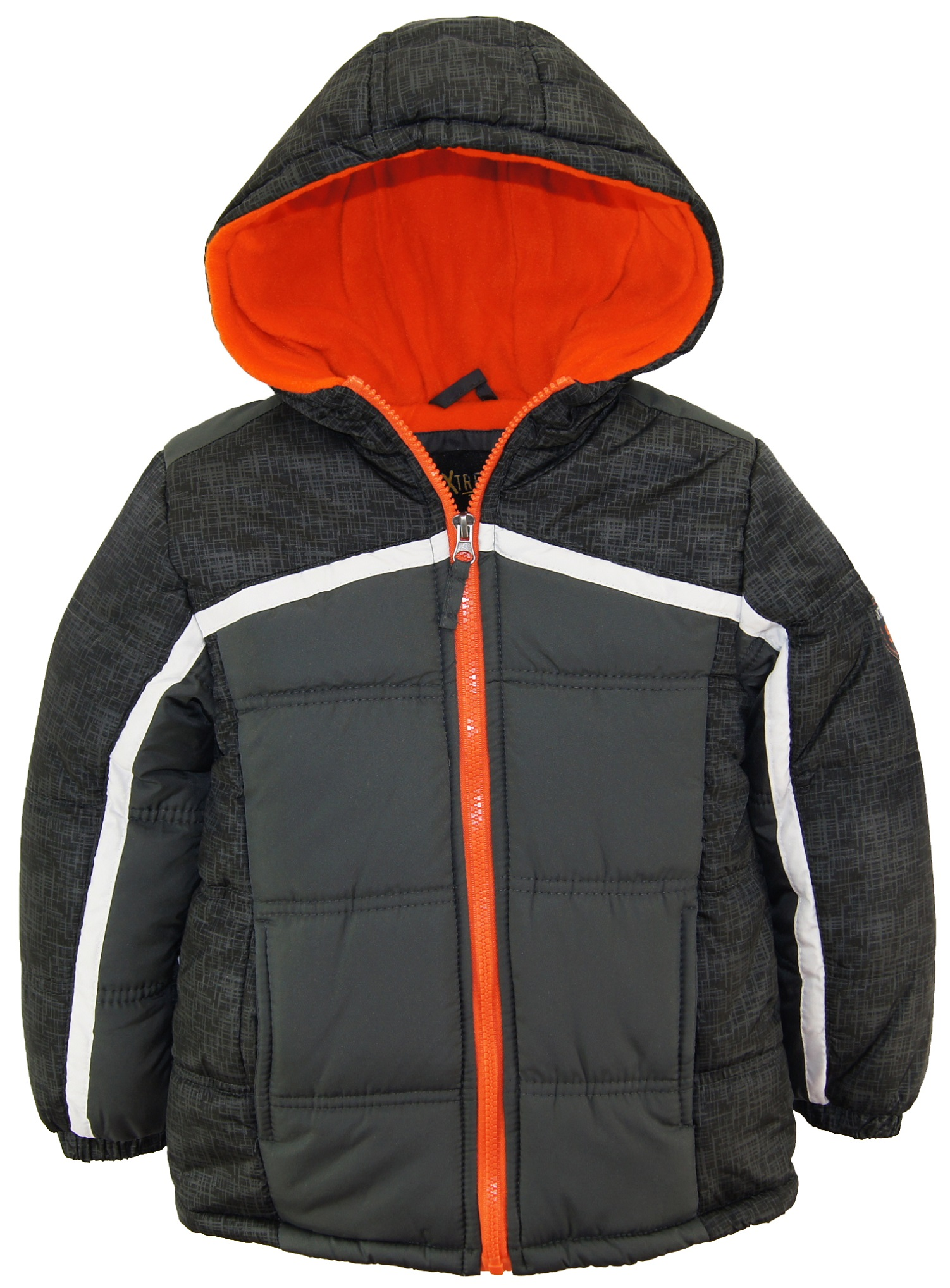 0556b490ccb2d ixtreme toddler boys colorblock expedition hooded winter puffer jacket coat