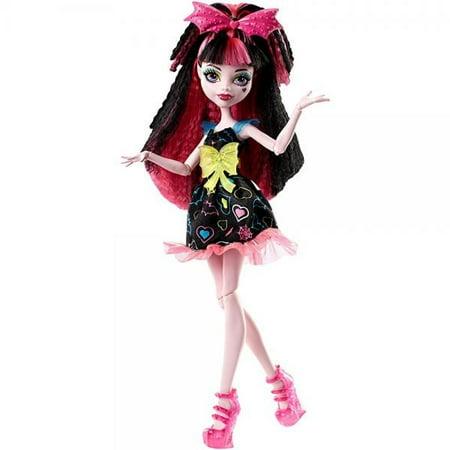Draculara Monster High (Monster High Electrified Hair-Raising Ghouls Draculaura)